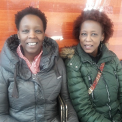 Jacinta and Florence Kimondo